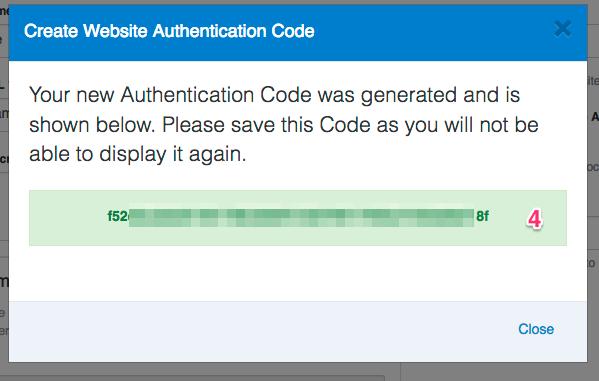 Auth_Code_Generated