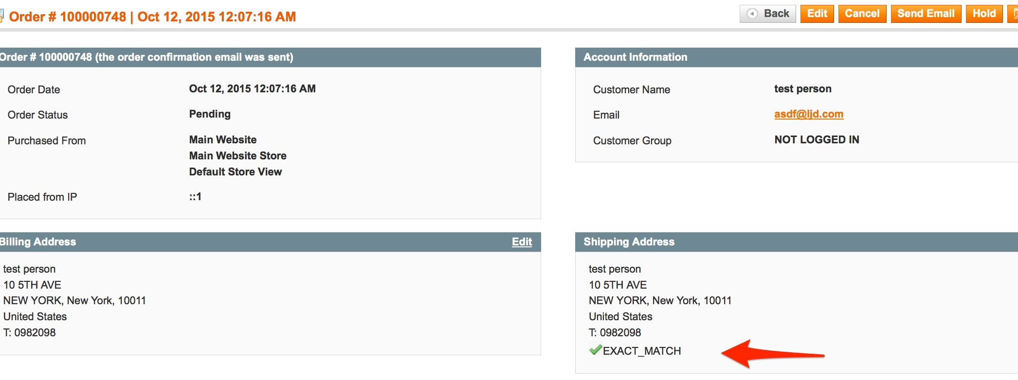 Address Validation - ShipperHQ Docs
