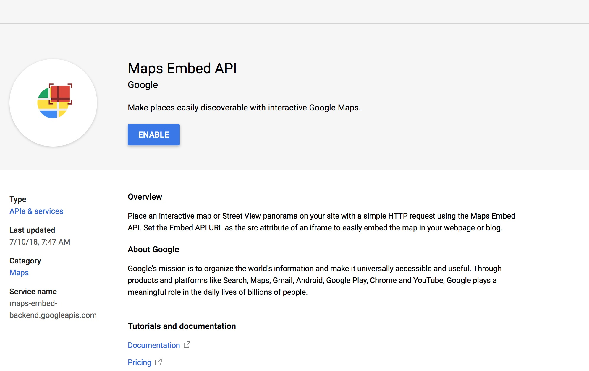 How To Set Up Google Maps Api Keys Shipperhq Docs