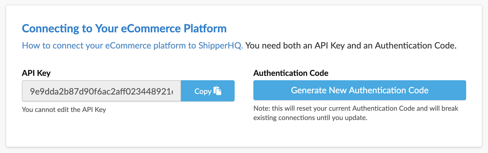 Connecting ShipperHQ to Your eCommerce Website - ShipperHQ Docs