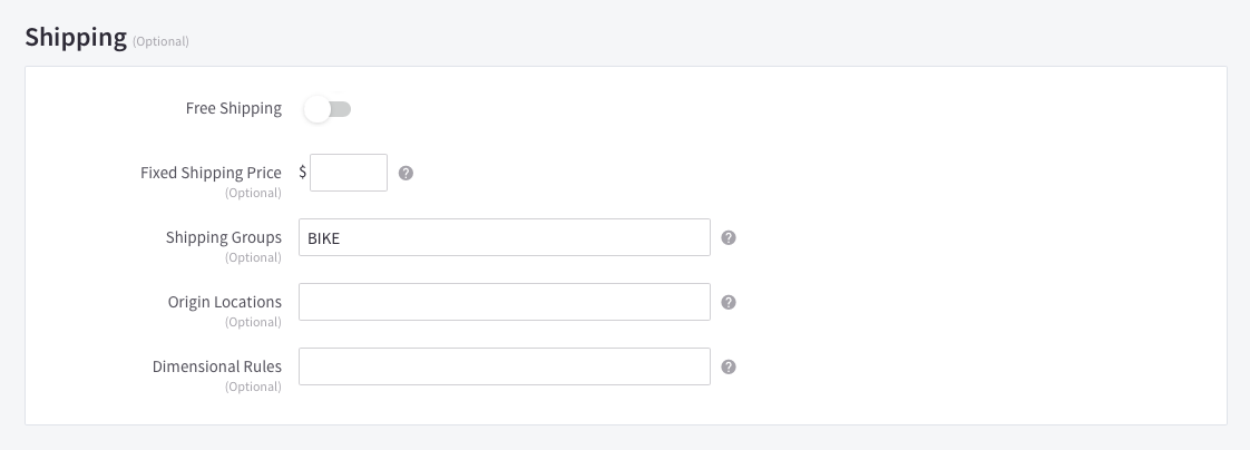 How to Set Up/Assign Product Attributes on Shopify - ShipperHQ Docs