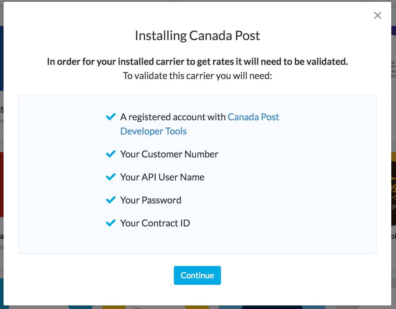 How to Set Up Canada Post - ShipperHQ Docs